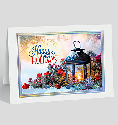 Happy Holiday Glow Card