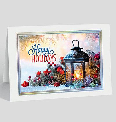 Happy Holiday Glow Card