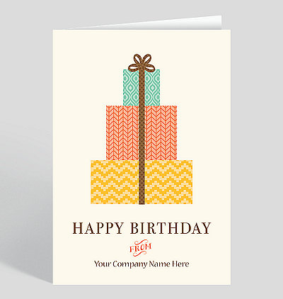 Customizable Front Ink Design Birthday Cards The Gallery Collection