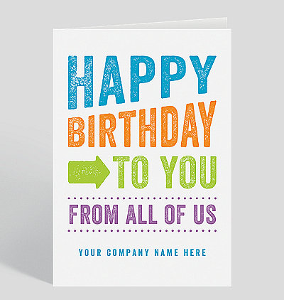 from all of us birthday cards the gallery collection