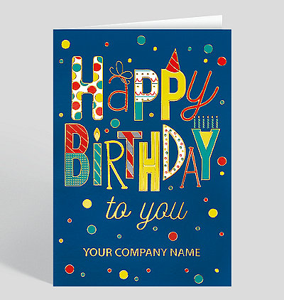Cheerful Birthday Wishes Card