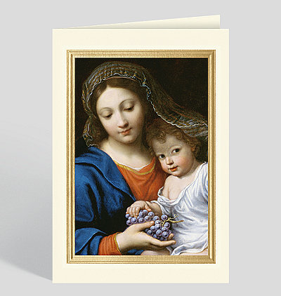 The Virgin of the Grapes (La Vierge de la Grappe) Card