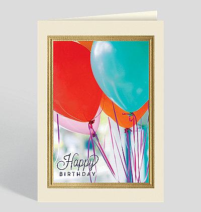 Birthday Balloon Bundle Card