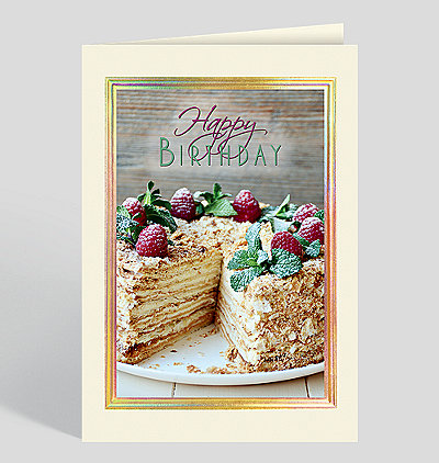Perfect Pastry Birthday Card