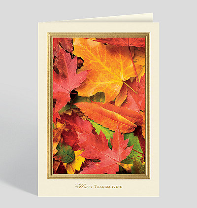 Colors Of The Fall Card