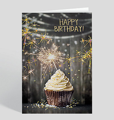 Sparkling Birthday Card