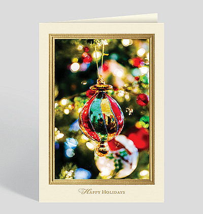 Radiant Reflections Holiday Card