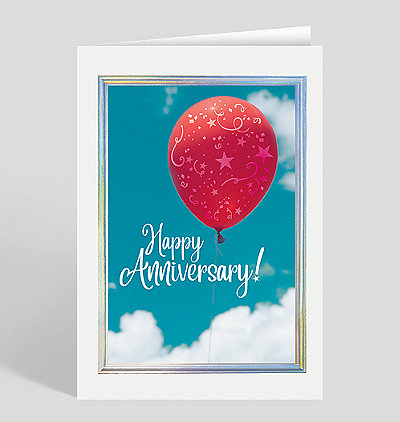 Anniversary Afloat Card