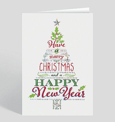 Holiday Cheer Tree Card