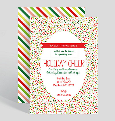 Corporate Holiday Party Invitations – Holiday Party Invitation