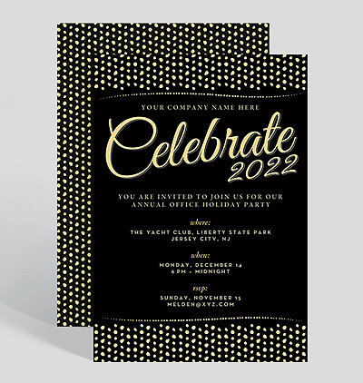 Corporate Holiday Party Invitations – Party Invitation Design